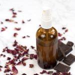 DIY chocolate and roses room spray