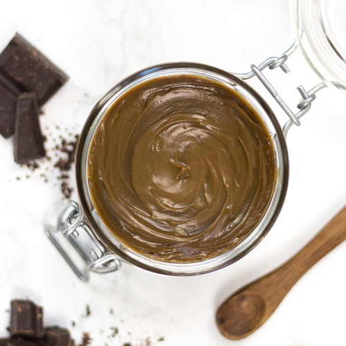 DIY chocolate cleansing balm with bacuri butter