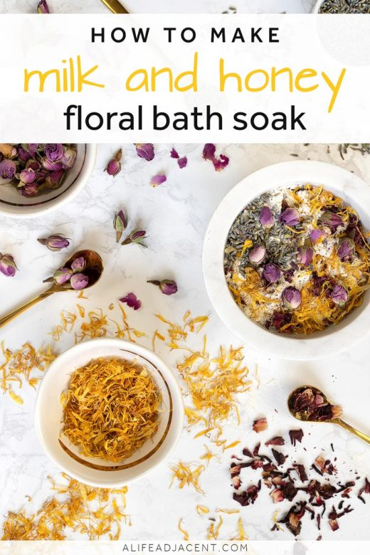 Milk and Honey DIY Bath Soak