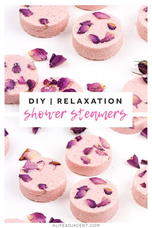 DIY shower steamers for relaxation