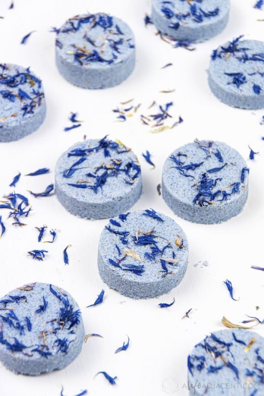 Lavender DIY shower steamers for sleep