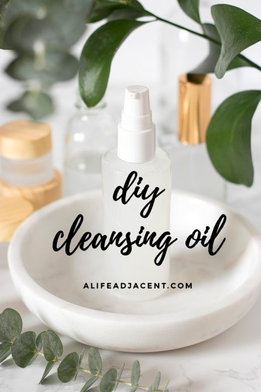 DIY cleansing oil