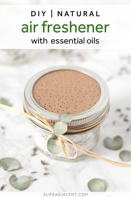 DIY air freshener with essential oils