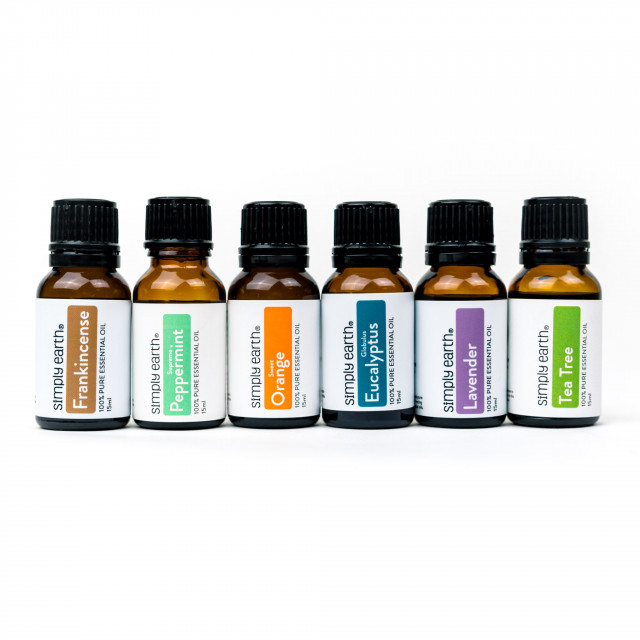 Shower Steamers Essential Oils Set