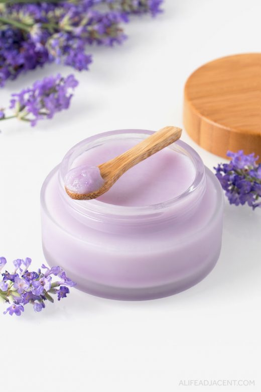 Lavender infused DIY oil cleansing balm