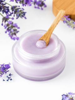 Lavender cleansing balm for oil cleansing method
